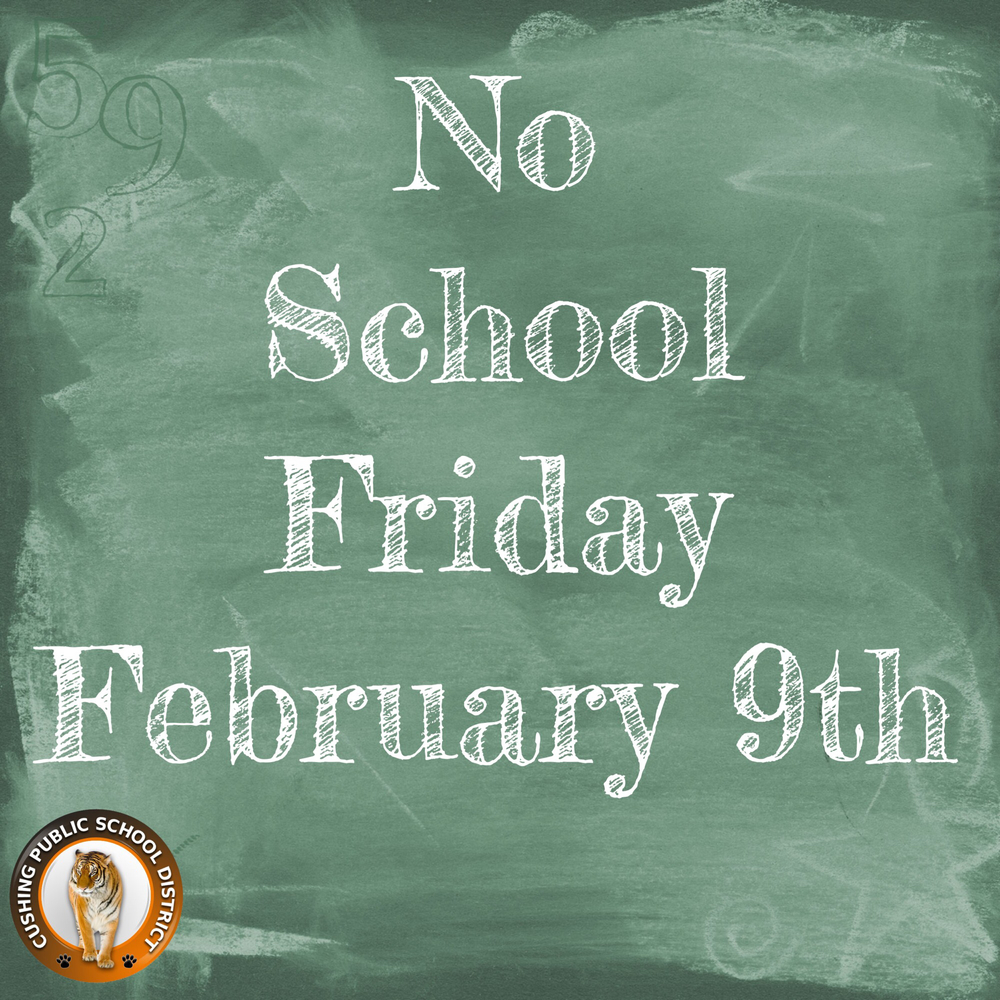 No School Feb 9th