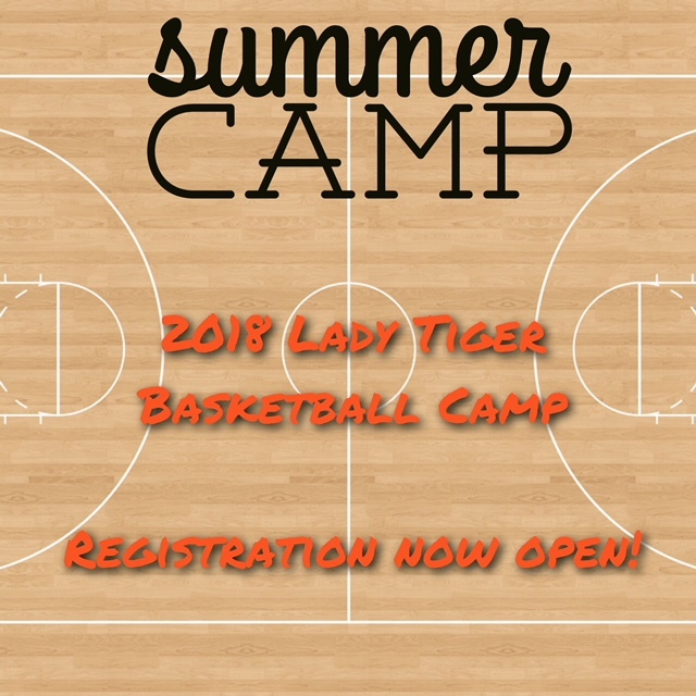 Lady Tigers Summer Basketball Camp