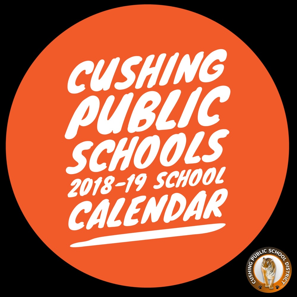 UPDATED: 2018-19 Calendar Available