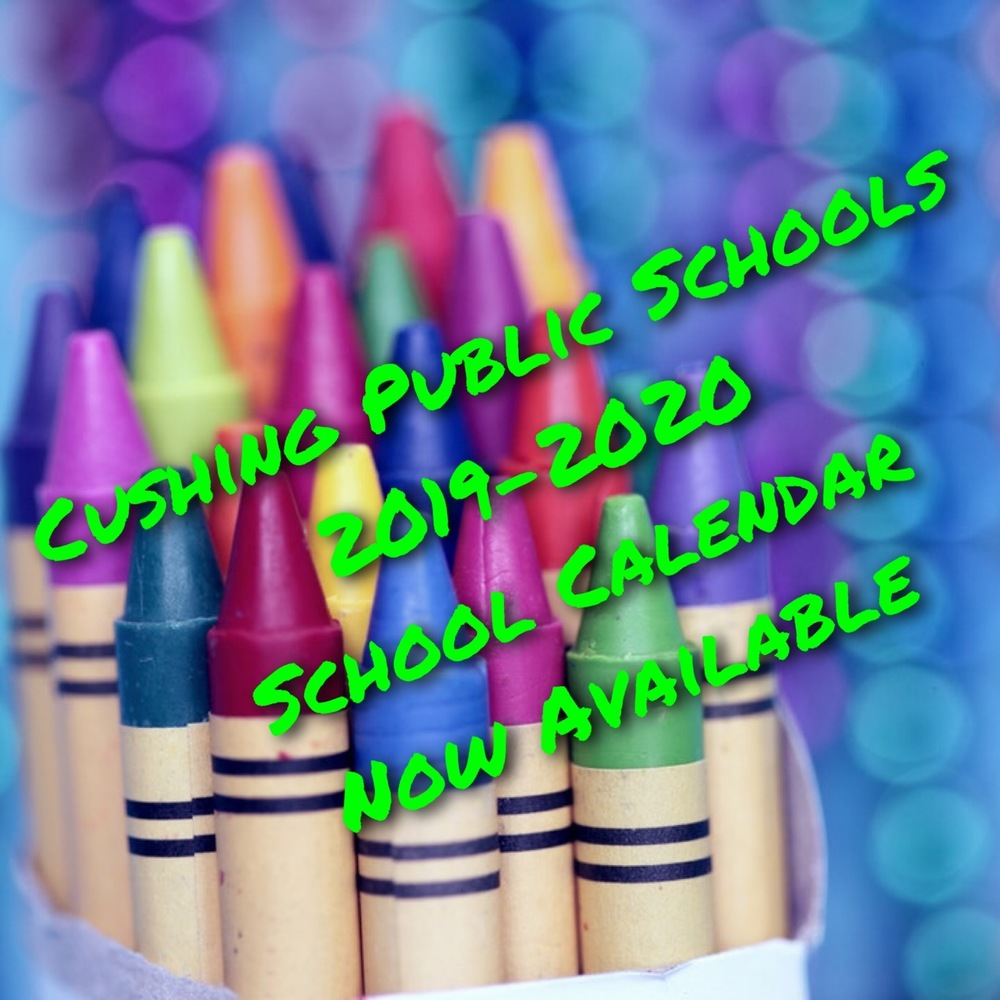 2019-20 School Calendars Available