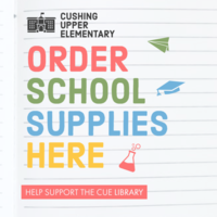 Order CUE School Supplies Here
