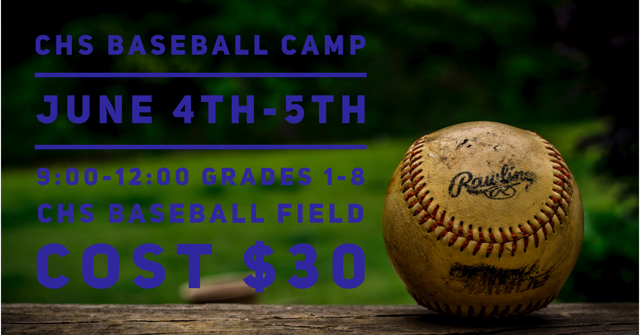CHS Baseball Camp