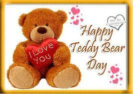 Teddy Bear Day - Friday, Sept. 7th, 12 noon