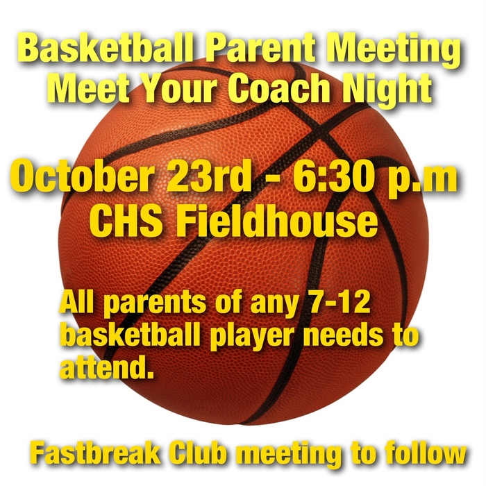 Basketball Parent Meeting