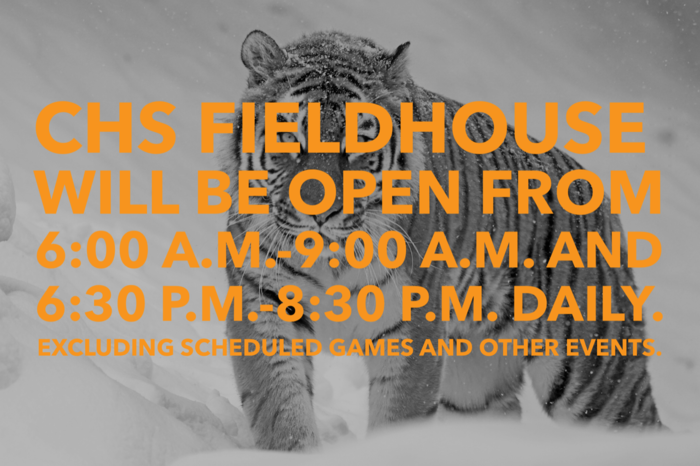 CHS Fieldhouse Open