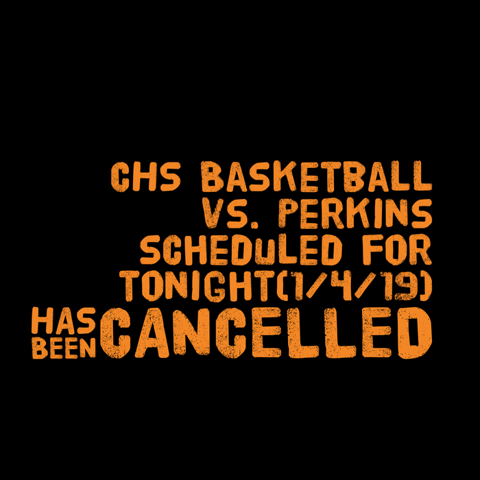 Basketball cancelled