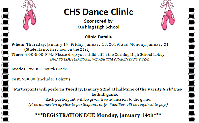 CHS Dance Clinic