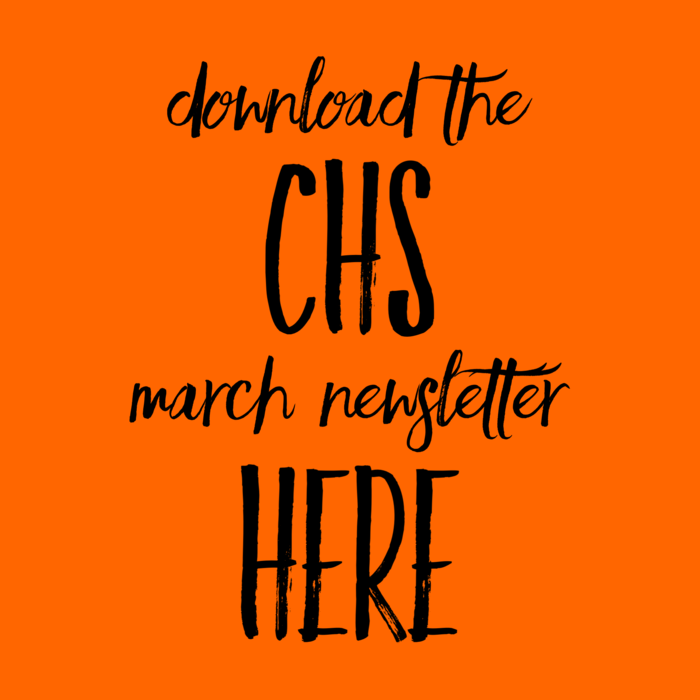 CHS March Newsletter