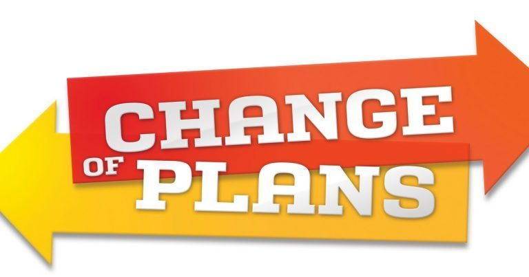 Change of Plans