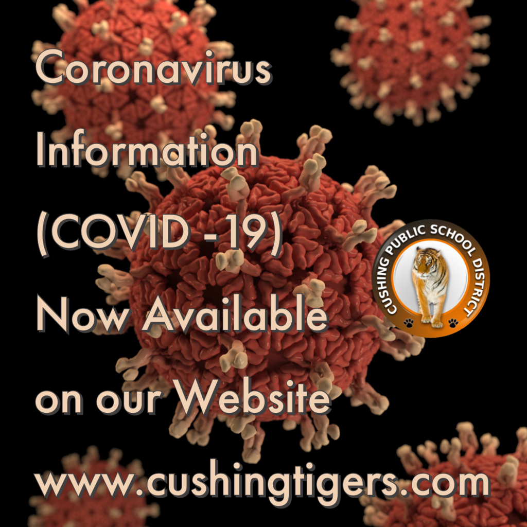 New Coronavirus Page on Website